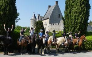 EVG EVJF Enterrement de vie de celibataire touraine cheval