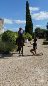 demande en mariage touraine cheval