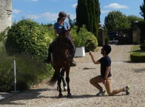 demande en mariage originale touraine cheval