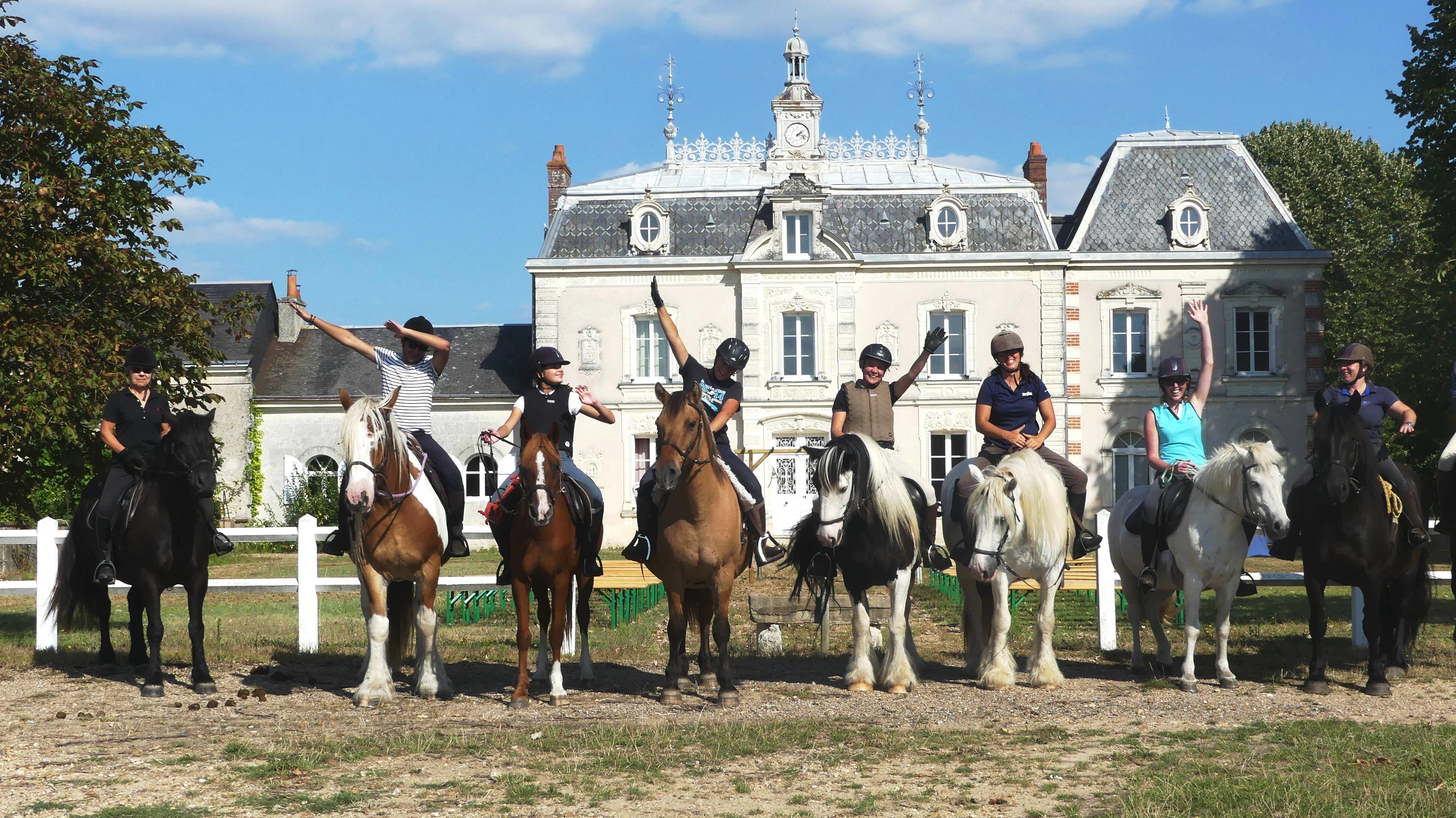 balade et randonnées touraine cheval