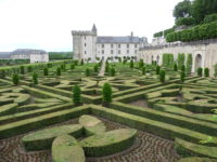 Villandry a cheval touraine