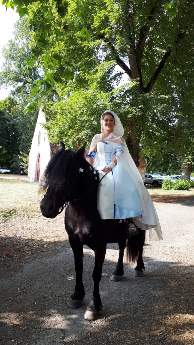 Mariage a touraine cheval